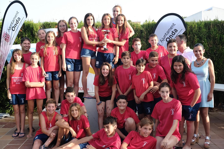 El Club Natació Vinaròs es proclama campió del 5è Trofeu Castell vila d'Onda