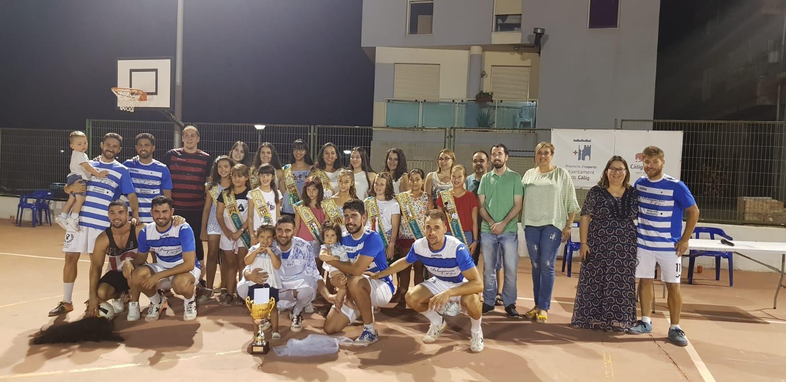 Càlig, Peluqueria Maria José es proclama campió del 8è Torneig d'Estiu de Futbol Sala