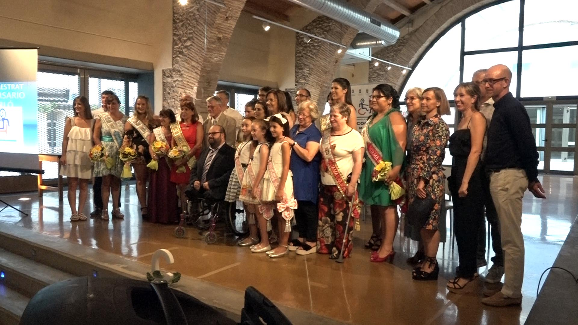 Benicarló, Cocemfe Maestrat presenta la dama 2019, Lorena Burriel