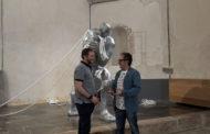 Benicarló; Inauguració de l'exposició «Topologies de l'espai escultòric», de Moisés Gil al Museu de la Ciutat de Benicarló 05-07-2019