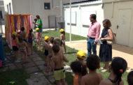 Peníscola; Visita a l'Escola d'Estiu al col·legi Jaime Sanz de Peníscola 04-07-2019