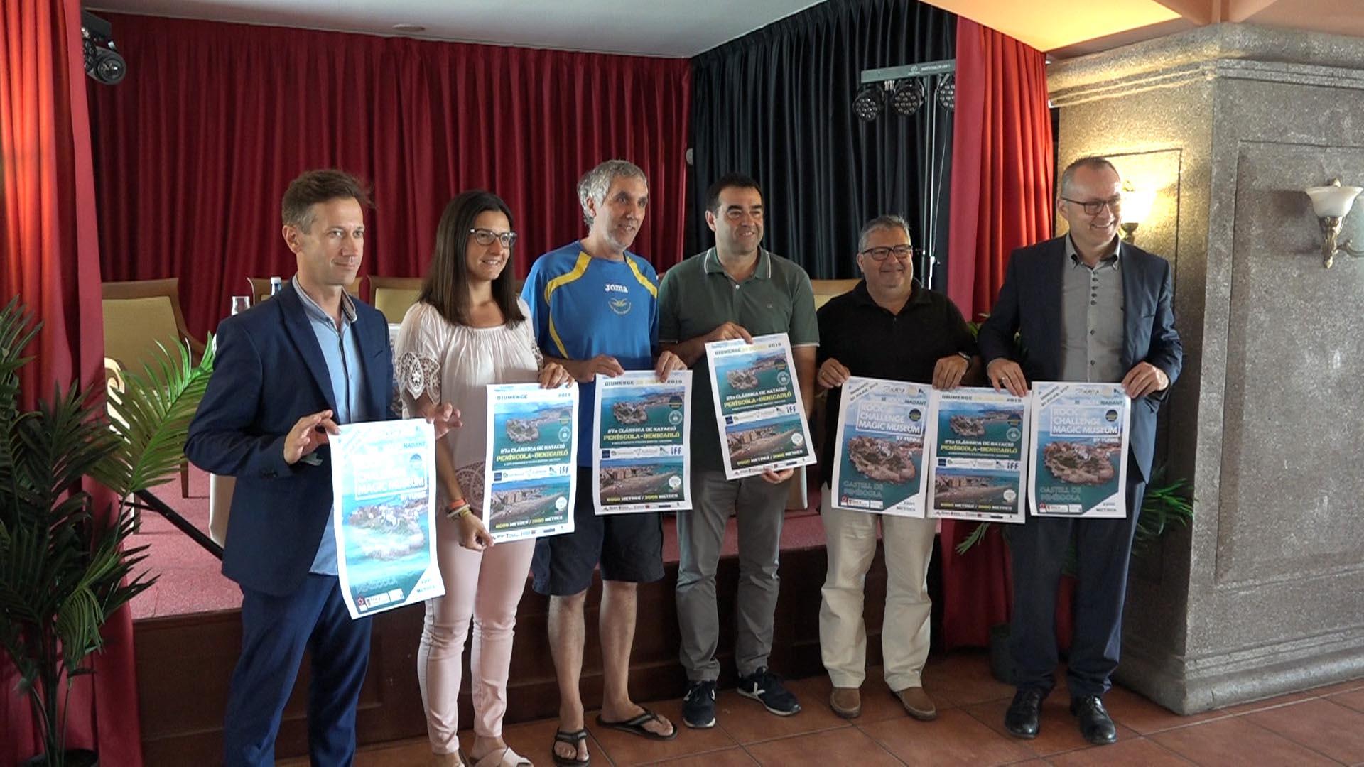 Peníscola, diumenge 28 de juliol es disputarà la 27a Travessia Peníscola - Benicarló