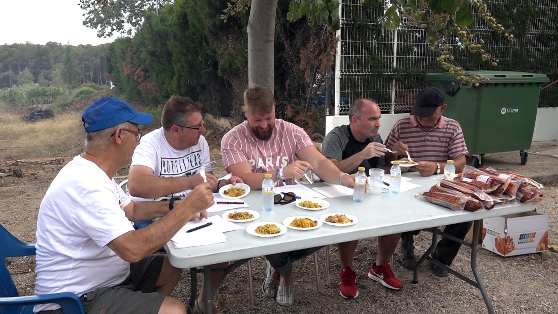 Sant Jordi, el 19è Concurs de Paelles torna a ser un èxit de participació