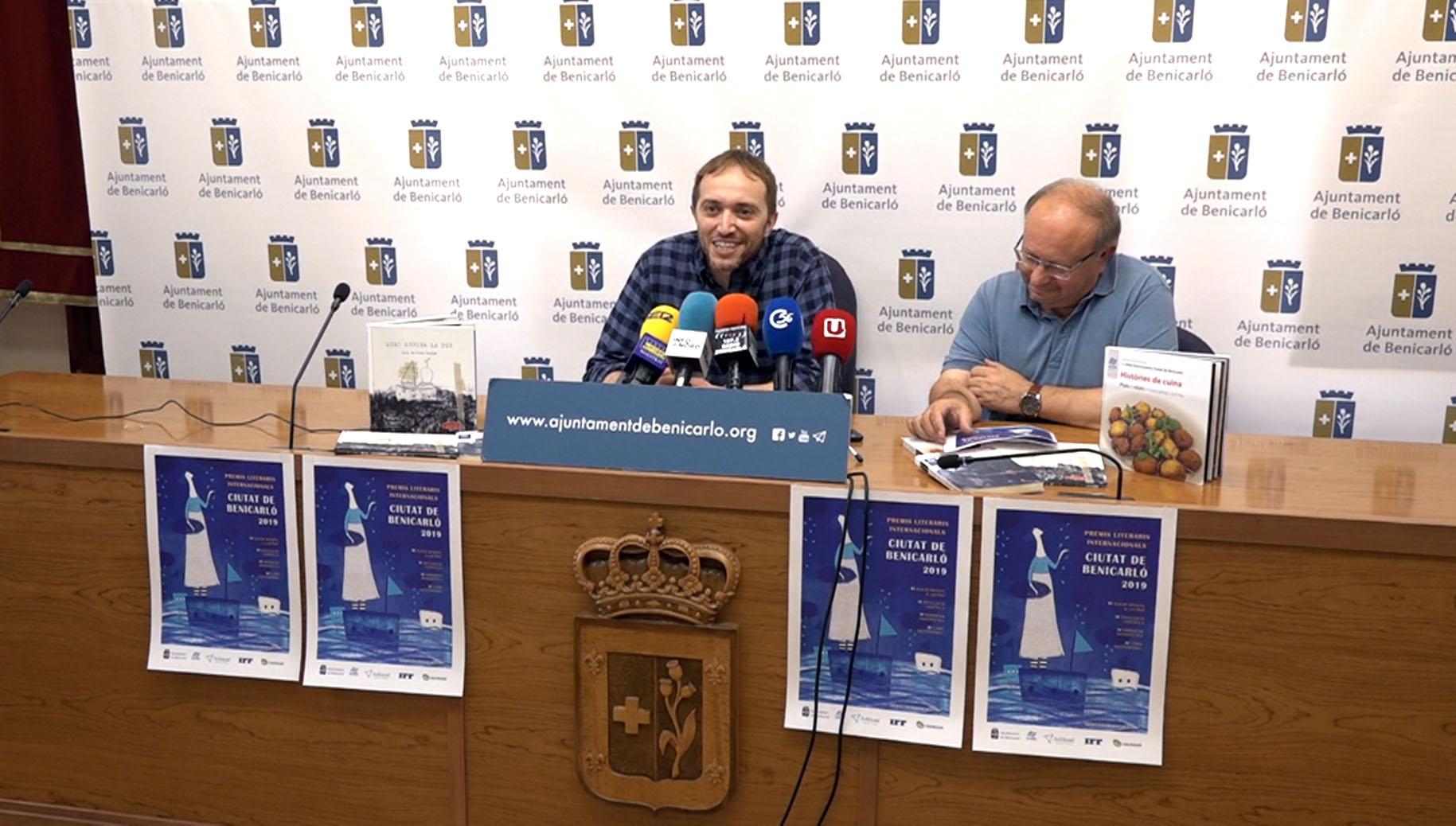 Benicarló obre la participació per a la quarta edició dels Premis Literaris Internacionals