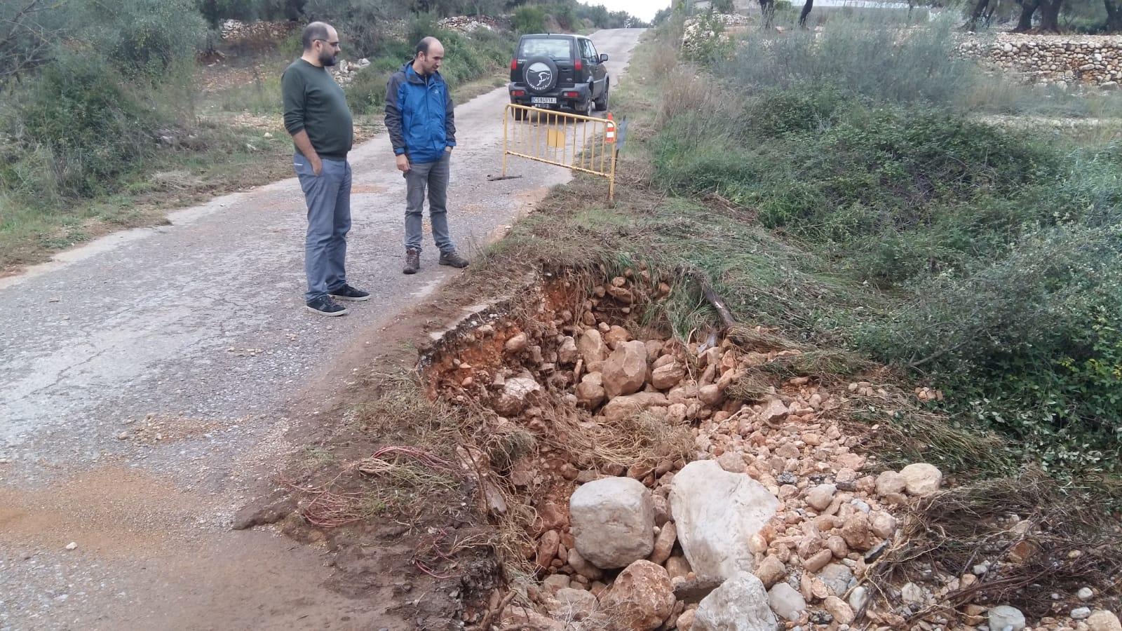 La Jana rebrà una ajuda de 36.329€ de la Generalitat per a pal·liar els efectes de les pluges d'octubre