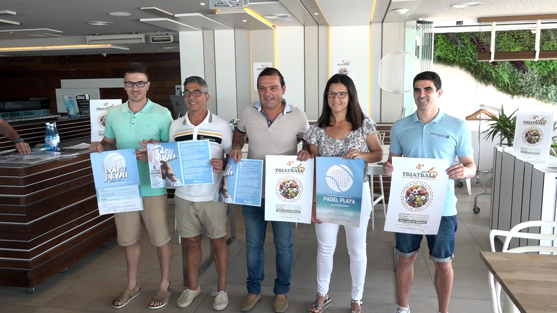 """Peníscola oferirà del 5 al 17 d'agost la 4a edició del """"Triatball"""""""