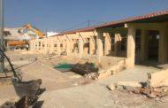 Canet lo Roig, s'enderroca el col·legi Araboga, pas previ per a la construcció del nou centre educatiu