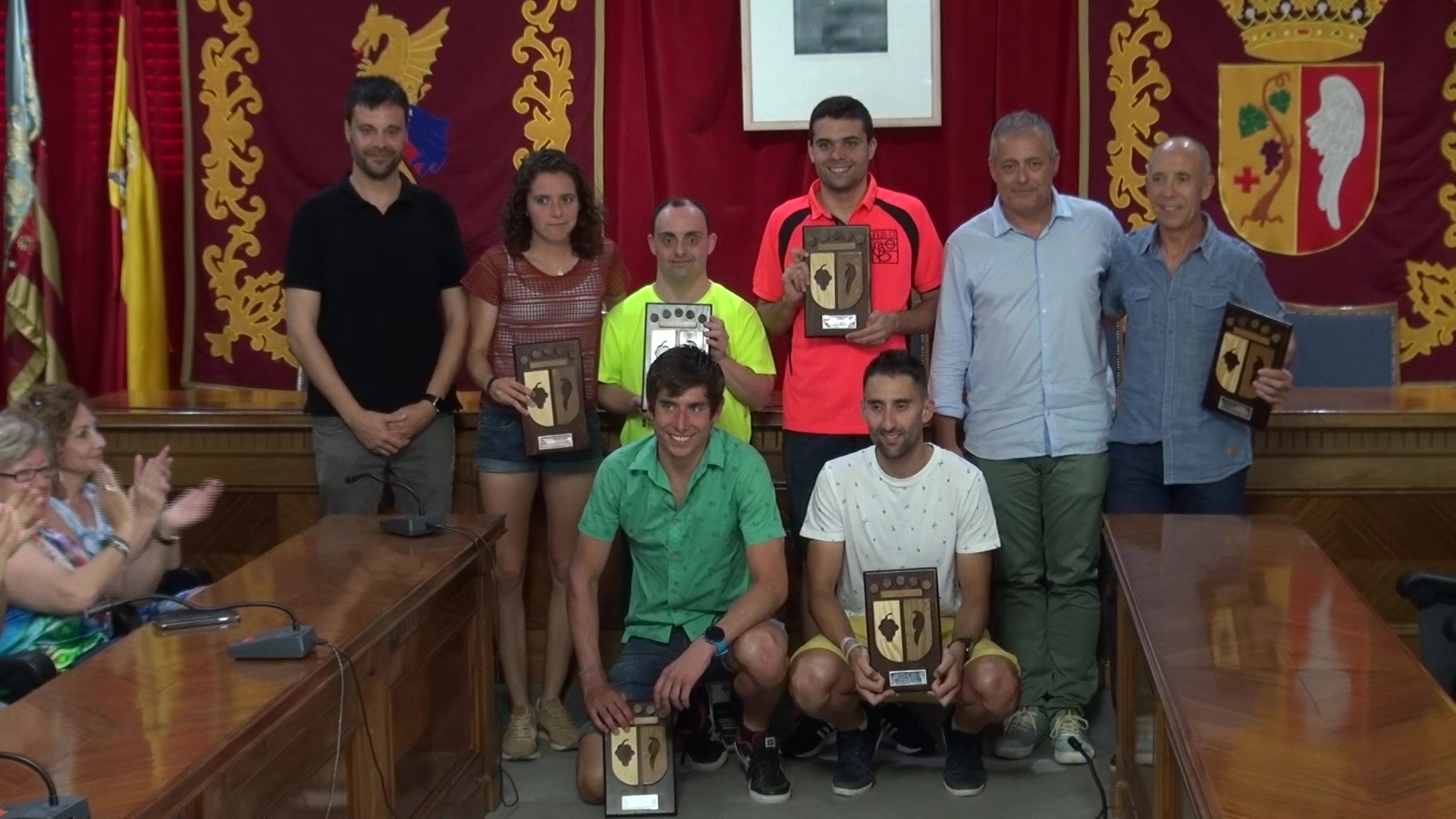 Vinaròs, l'Ajuntament reconeix als esportistes que han aconseguit bons resultats aquesta temporada