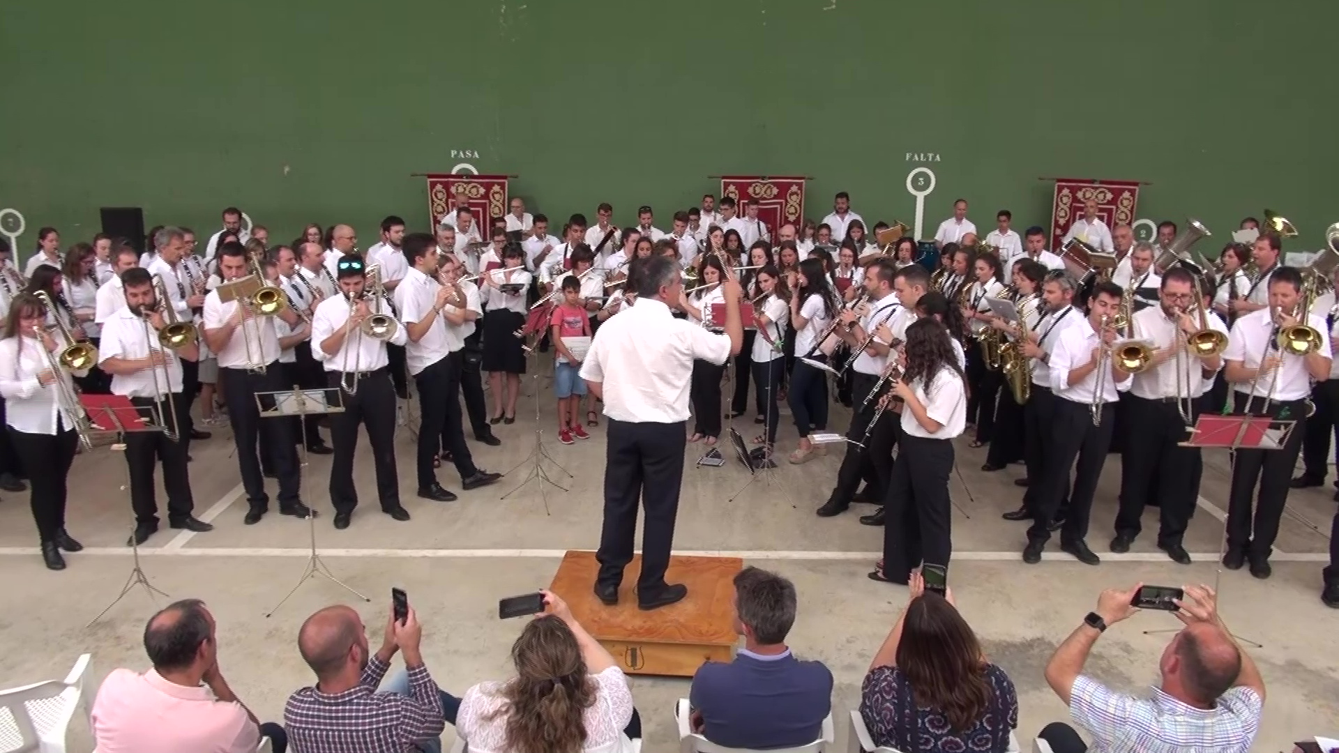 Vilafranca acull la 26a Trobada de Bandes de Música dels Ports Alt Maestrat