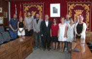 Vinaròs; Visita institucional de Josep Pascual Martí García President de la Diputació de Castelló 17-07-2019