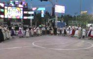 Santa Magdalena; Actuació del Grup de Danses Magdaleneres  i la Colla de Dolçainers i Tabaleters 22-07-2019