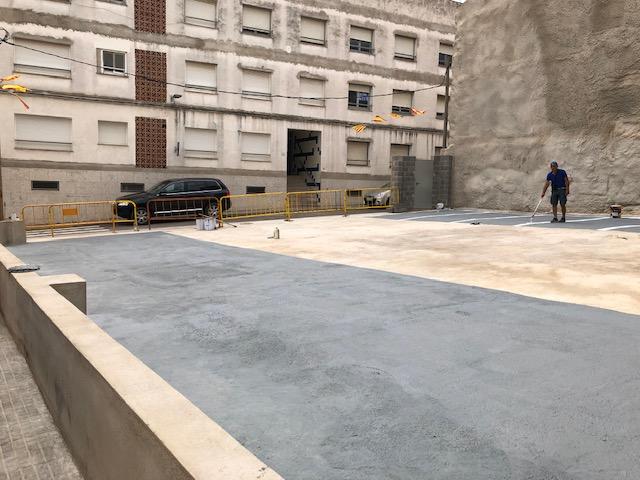 Alcalà, l'Ajuntament habilita un nou pàrquing gratuït al centre de la localitat