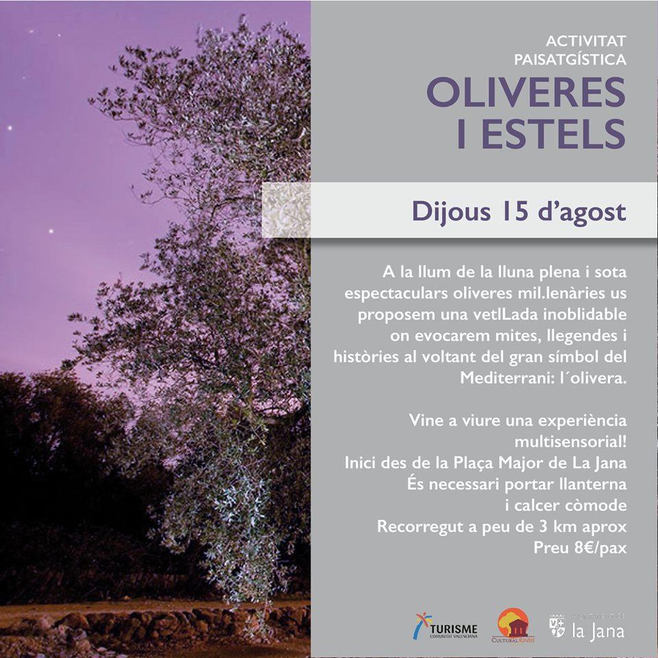 La Jana oferirà una nova experiència turística al voltant de les oliveres
