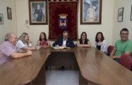 Albocàsser, el president de la Diputació, José Martí, visita les obres que s'han fet a la localitat