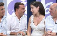 L'ENTREVISTA. Andrés Martínez, alcalde de Peníscola; Ramón Simó, regidor de Festes; Leticia Gaseni, reina de Festes; i Paco Vizcarro, mantenidor 30-08-2019