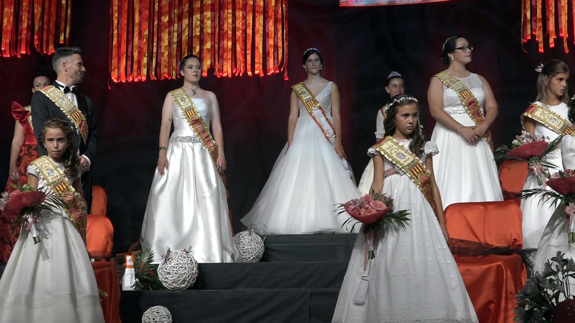 Càlig dona la benvinguda a les Festes Patronals amb la presentació de les Reines, Dames i Fester