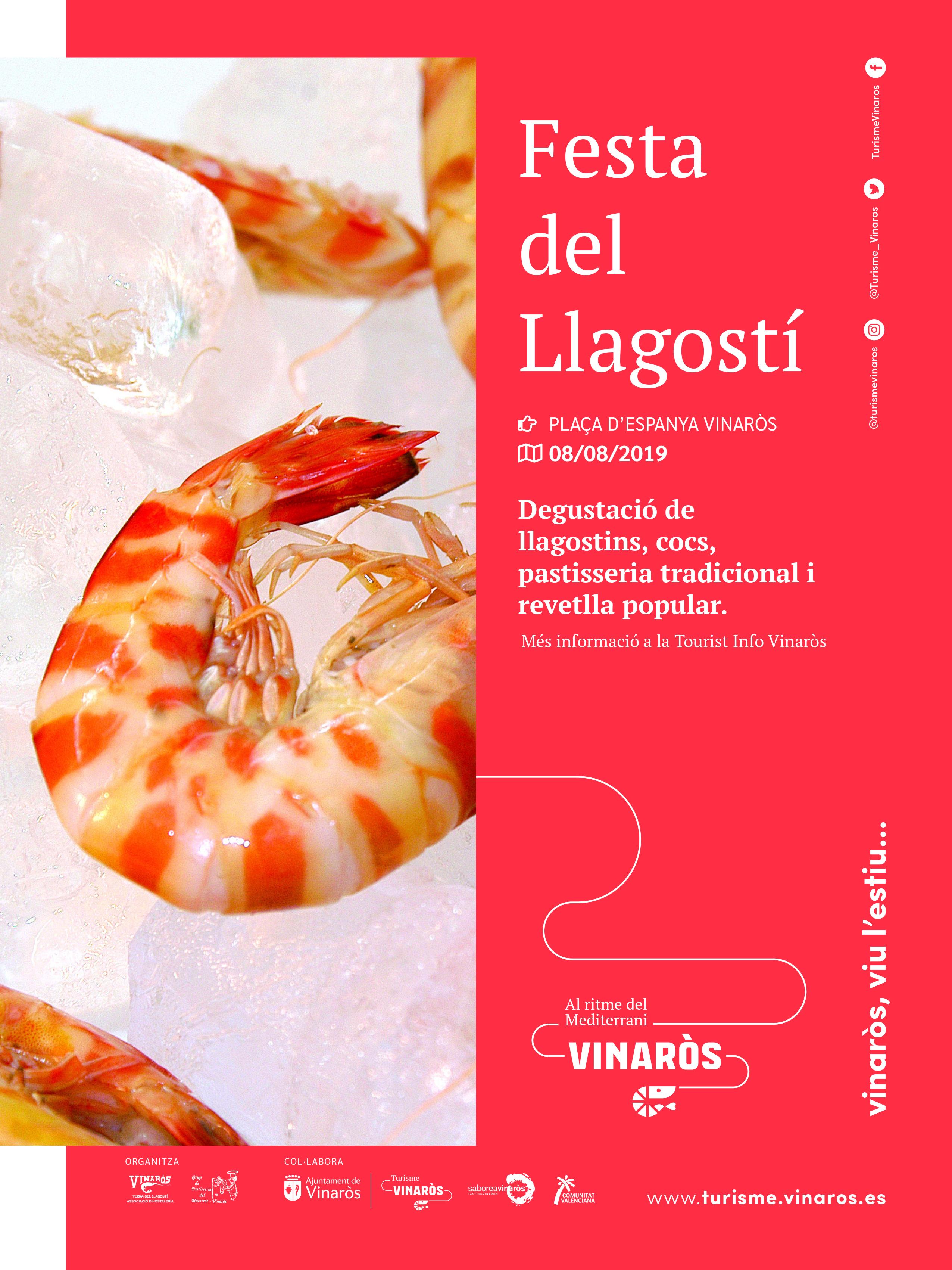 Vinaròs, nova edició de la Festa del Llagostí per al 8 d'agost