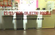 """Rossell; Inauguració de l'exposició """"27-03-1938 Objectiu Rossell"""" al Centre Cívic Molí Vell de la població 08-08-2019"""