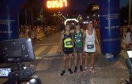 Vinaròs, més de 500 atletes participen en el 10K Nocturn Llagostí de Vinaròs