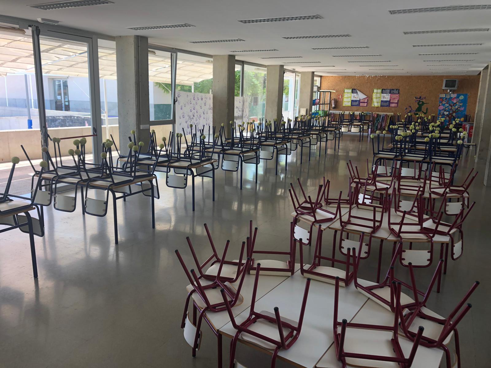 Alcalà, l'Ajuntament adjudica les obres d'insonorització del menjador del col·legi La Mola