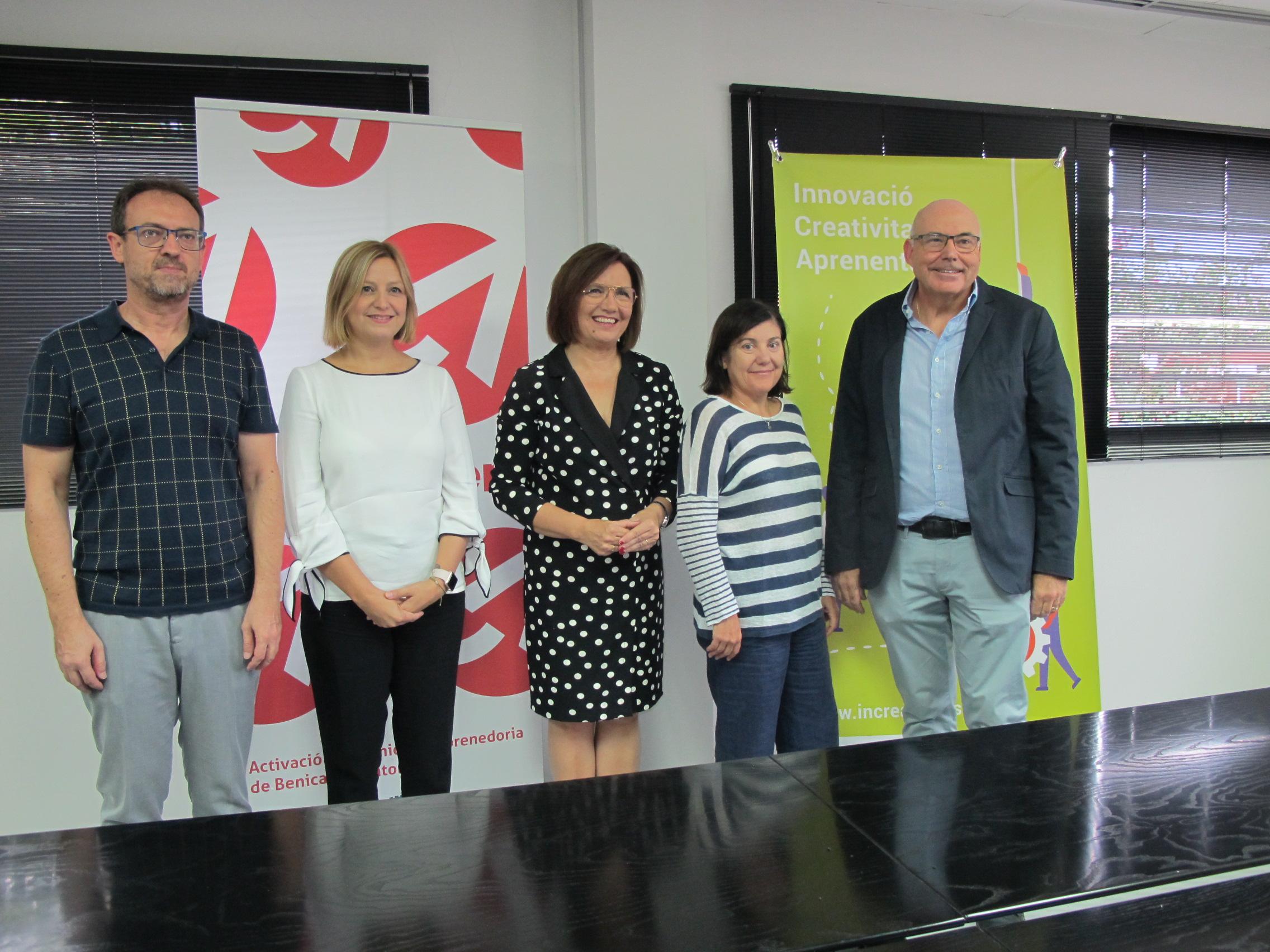 Benicarló fomentarà l'emprenedoria i l'ocupació amb el programa Actiben Inicia
