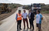 La Diputació inicia la reparació de les carreteres de la província
