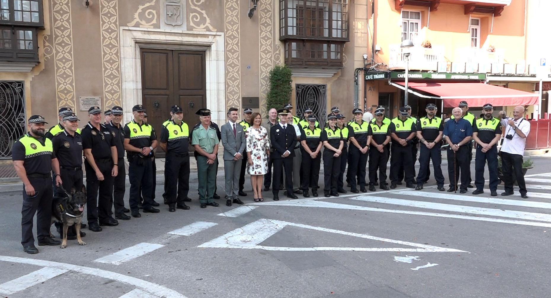Benicarló, la Policia Local celebra el dia del patró
