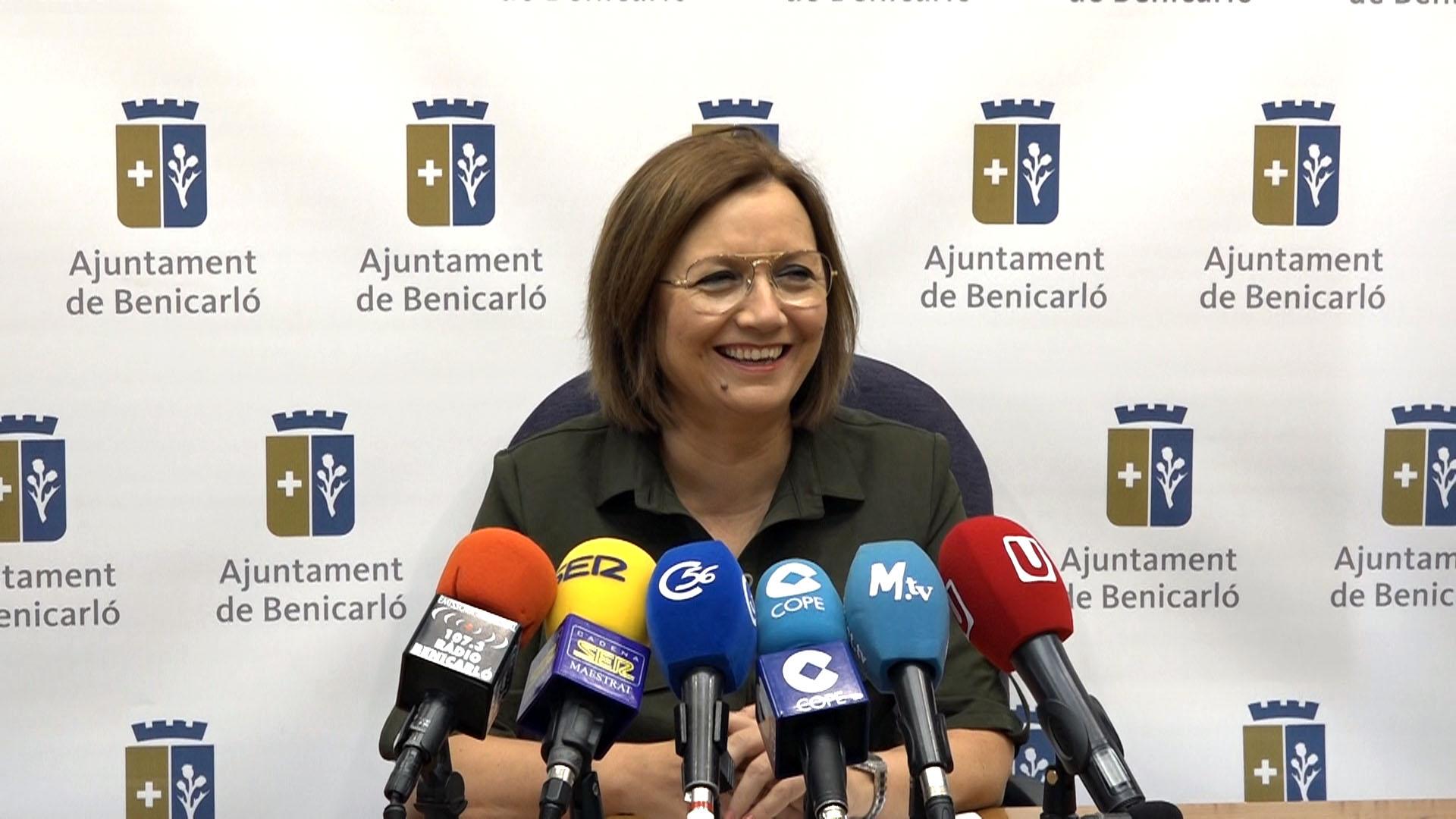 Benicarló, l'alcaldessa Miralles informa que l'aprovació del PGOU avança dintre dels terminis establerts