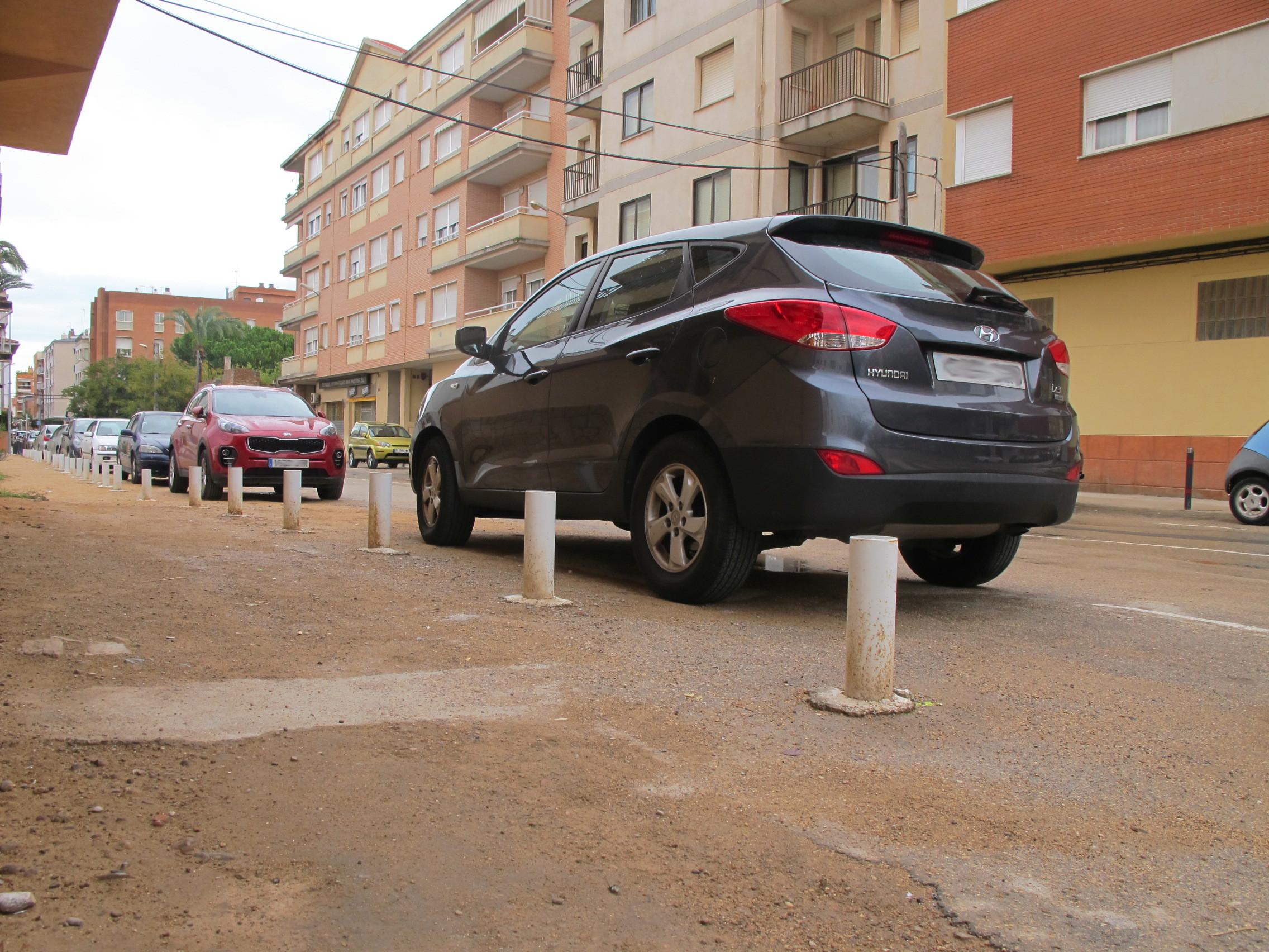 Benicarló, dilluns començaran les feines d'urbanització del carrer de València
