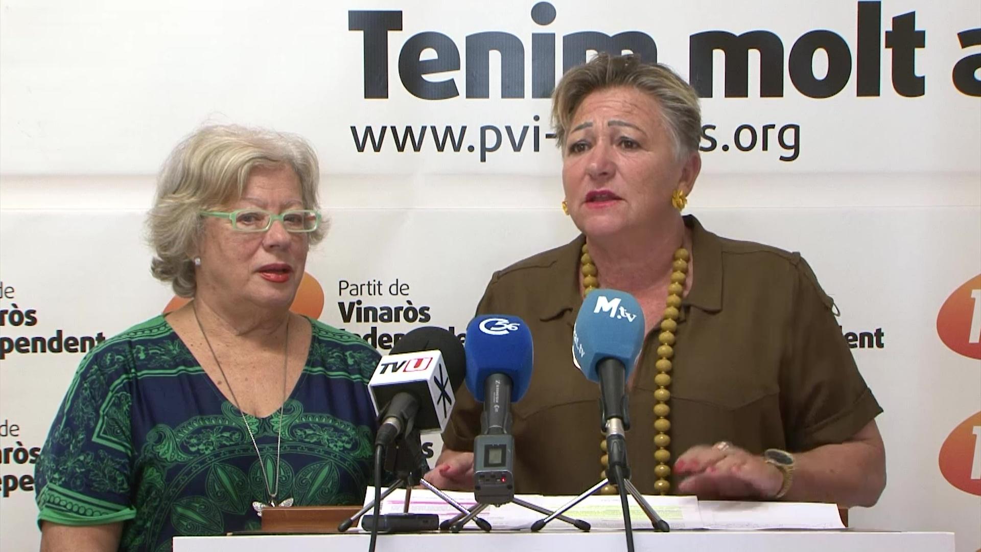 Vinaròs, el PVI presenta un recurs per demanar que Ramírez deixe el Grup Mixt