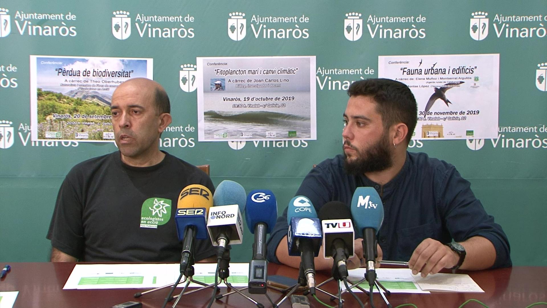 Vinaròs acollirà les 4t Conferències sobre el Medi Ambient