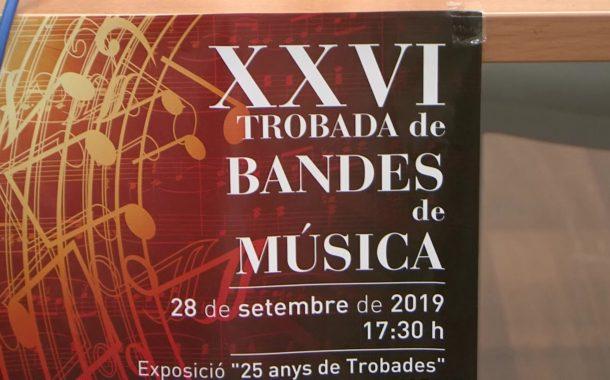 Benicarló es convertirà en la capital de la música amb la 26a Trobada de Bandes del Baix Maestrat