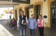 Vinaròs, el candidat del PP al Congrés assegura que treballarà per millorar el servei ferroviari a la comarca