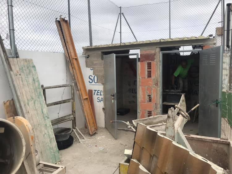 Sant Mateu, avencen les feines de remodelació del camp de futbol