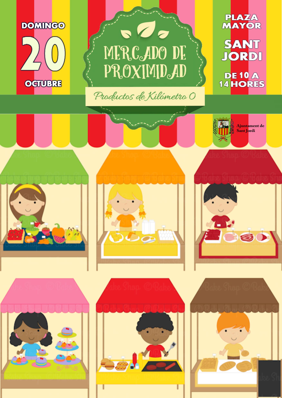 Sant Jordi celebrarà dissabte el primer Mercat de Proximitat per fomentar els consum dels productes de quilòmetre 0