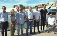 Vinaròs, el secretari Obiol visita el port per conèixer els projectes a desenvolupar