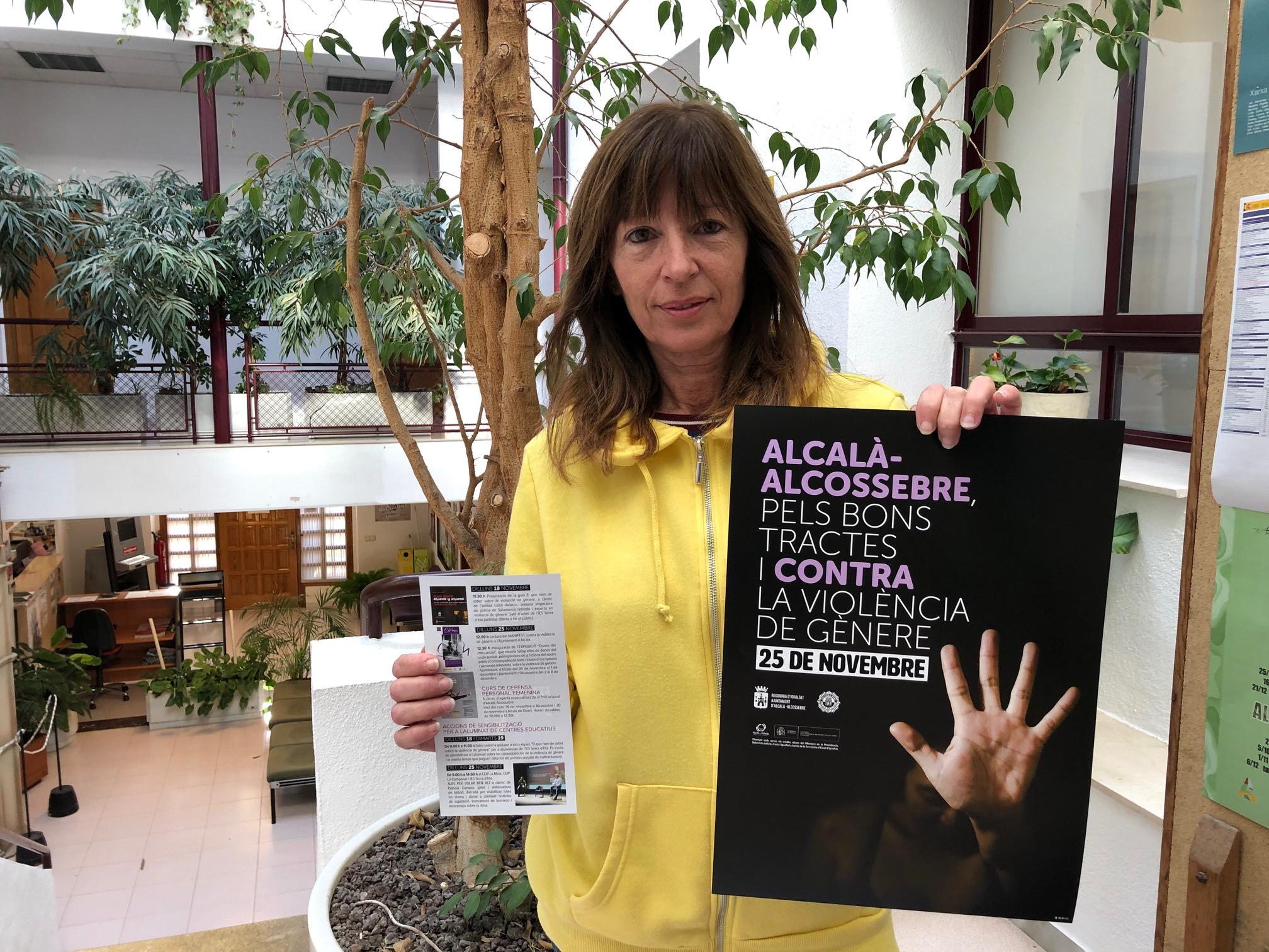 Alcalà-Alcossebre; L'Ajuntament d'Alcalà-Alcossebre dedica novembre a conscienciar sobre la violència de gènere