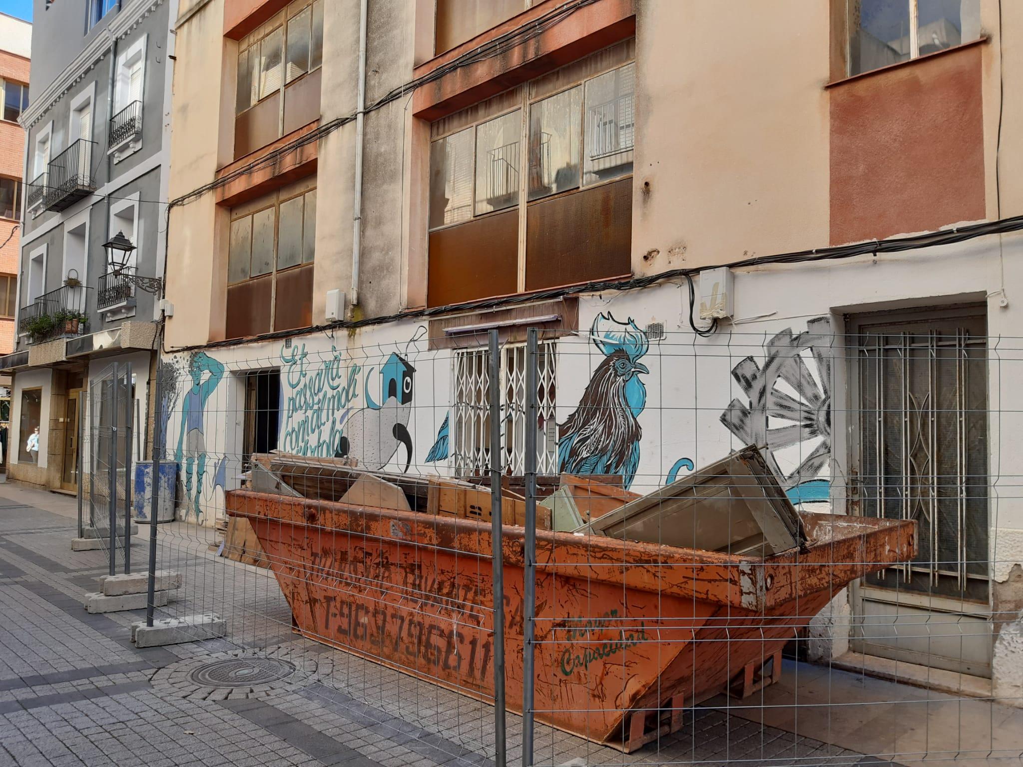 Benicarló; Comencen les obres de rehabilitació del futur Centre Cívic del carrer Major