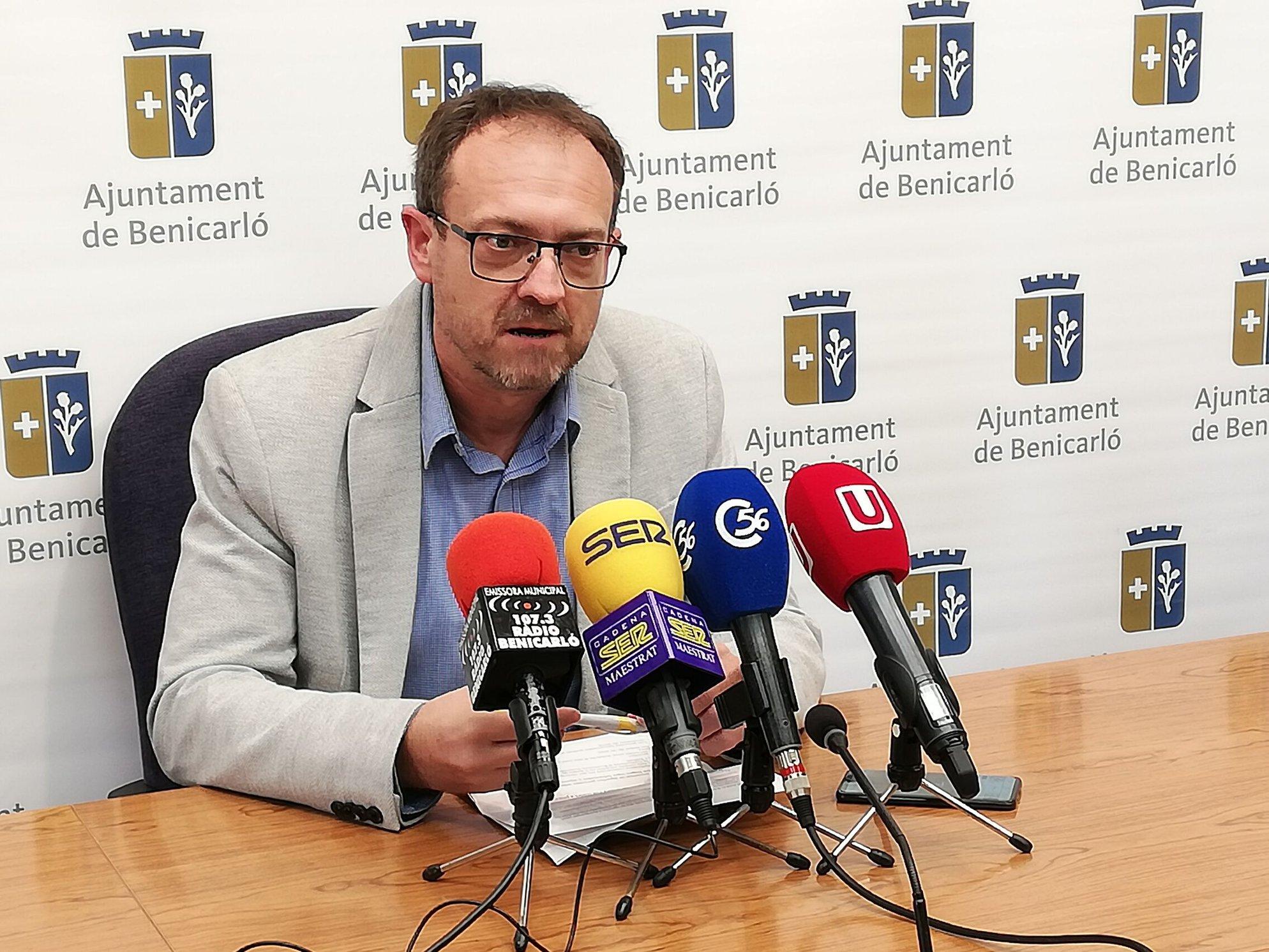 Benicarló; L'Ajuntament de Benicarló contractarà 6 persones desocupades majors de 30 anys