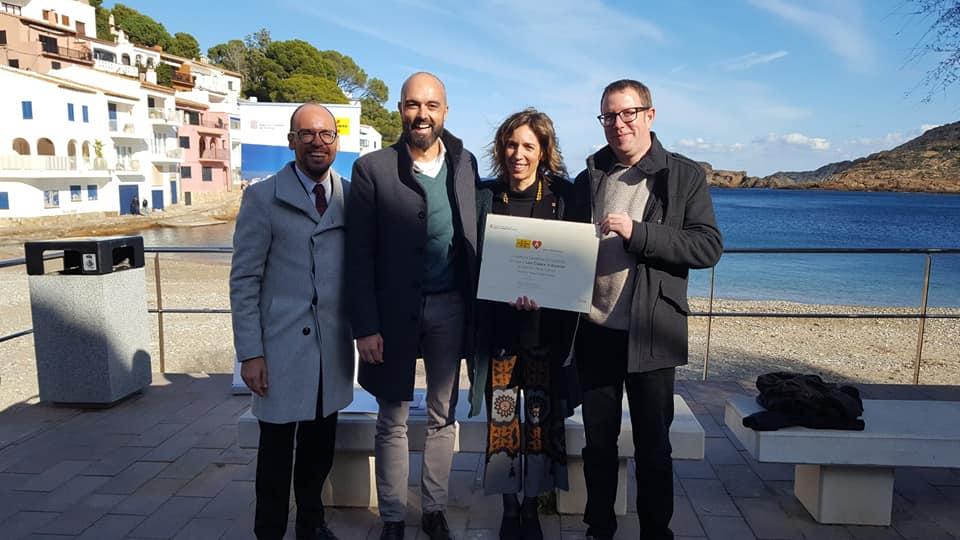 Les Cases d'Alcanar; Les Cases d'Alcanar ja és una de les dotze Viles Marineres de Catalunya