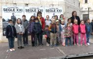Benicarló; Lectura del manifest pels Drets de la Infància i l'Adolescència i Marxa Ciclista per la Solidaritat de Mans Unides 17-11-2019