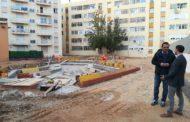 Peníscola; Avancen a bon ritme les obres de regeneració urbana en l'antic col·legi D. Jaime Sanz