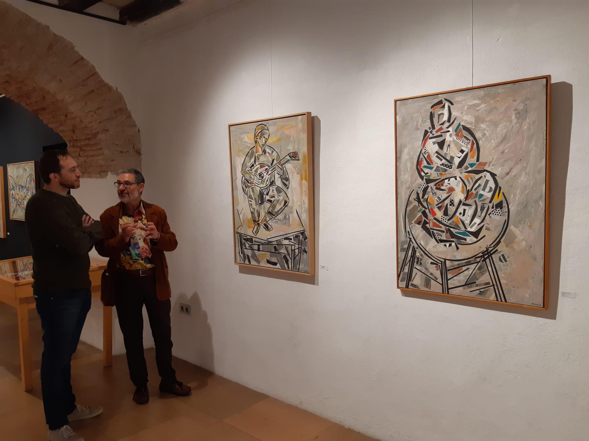 Benicarló; El Mucbe s'acoloreix amb «Poètiques del Collage», l'exposició de Manuel Silvestre