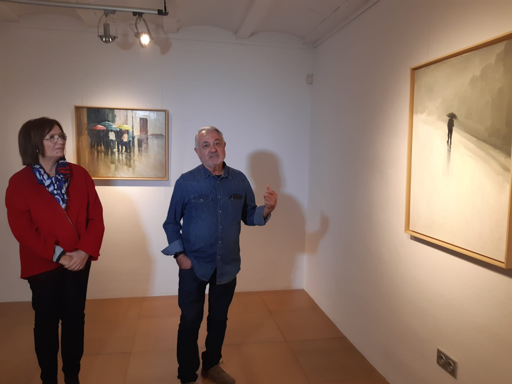 Benicarló; L'Obra de Nicolás Caballero arriba al Mucbe amb 'Acentos de color'