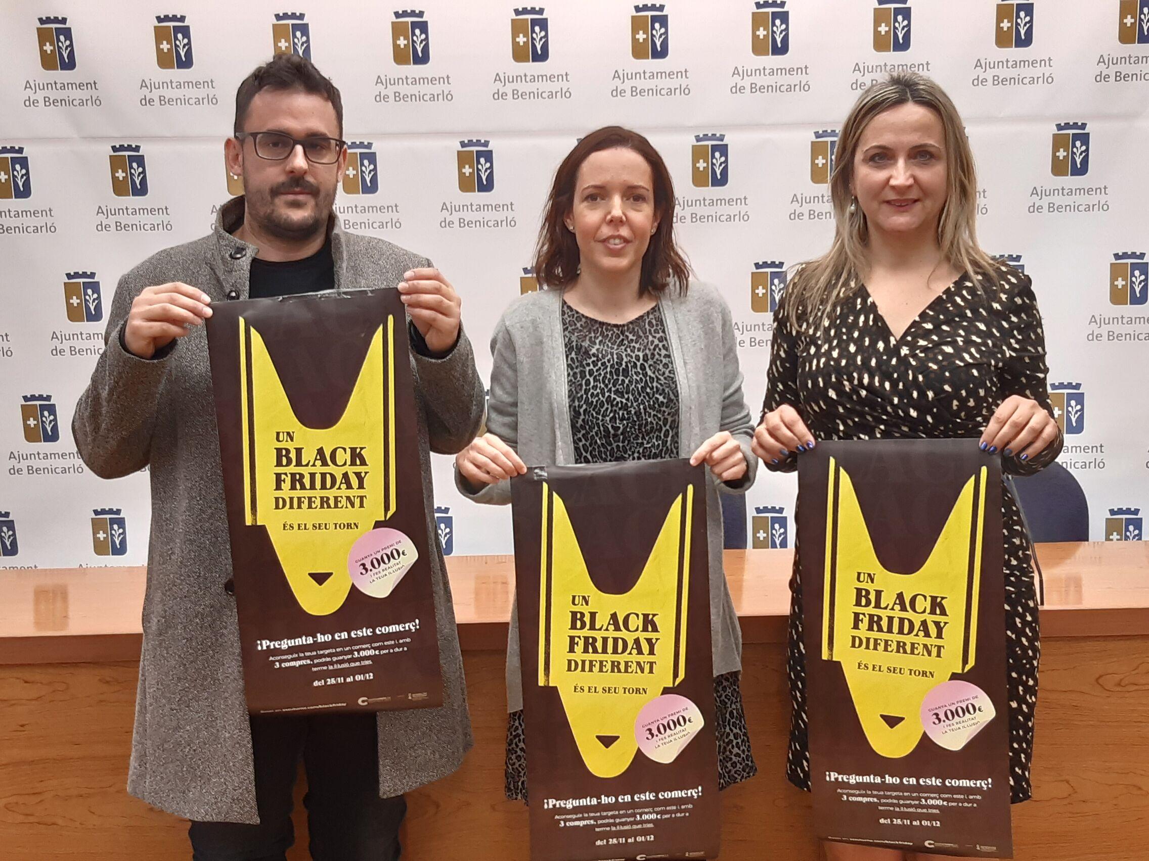 Benicarló; La Unió de Comerços de Benicarló se suma al 'Black Friday' de Confecomer