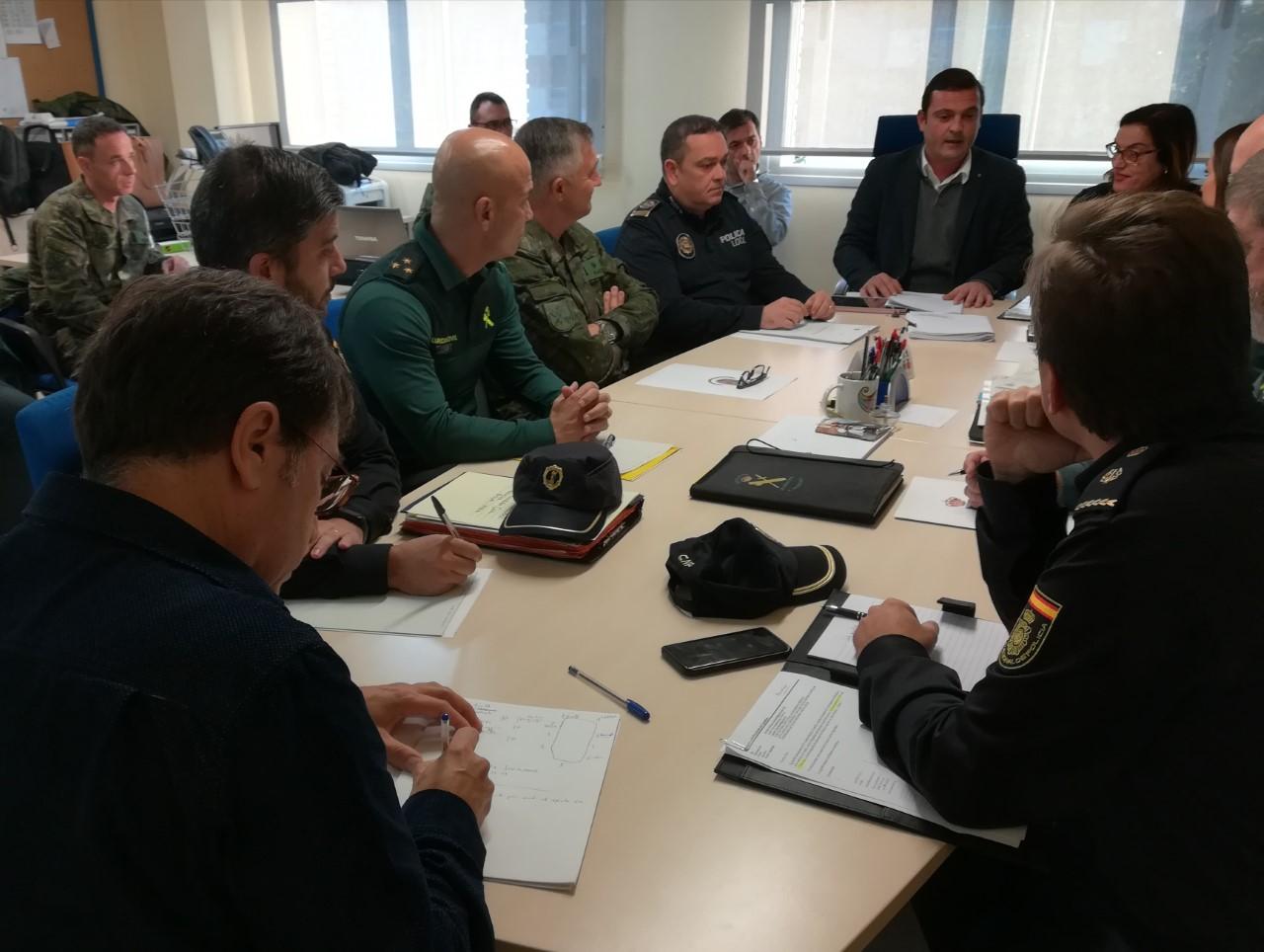 Peníscola; Peníscola convoca la Junta Local de Seguretat per coordinar el dispositiu especial amb motiu de la celebració de la Jura de Bandera