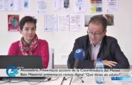 Alcossebre; Roda de premsa Coordinadora del Menor del Baix Maestrat 15-11-2019