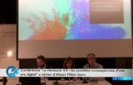 Fundació Caixa Vinaròs, Conferència a càrrec d'Albert Milián Isern: La revolució 4.0 i les possibles conseqüències d'una era digital, 15-11-2019
