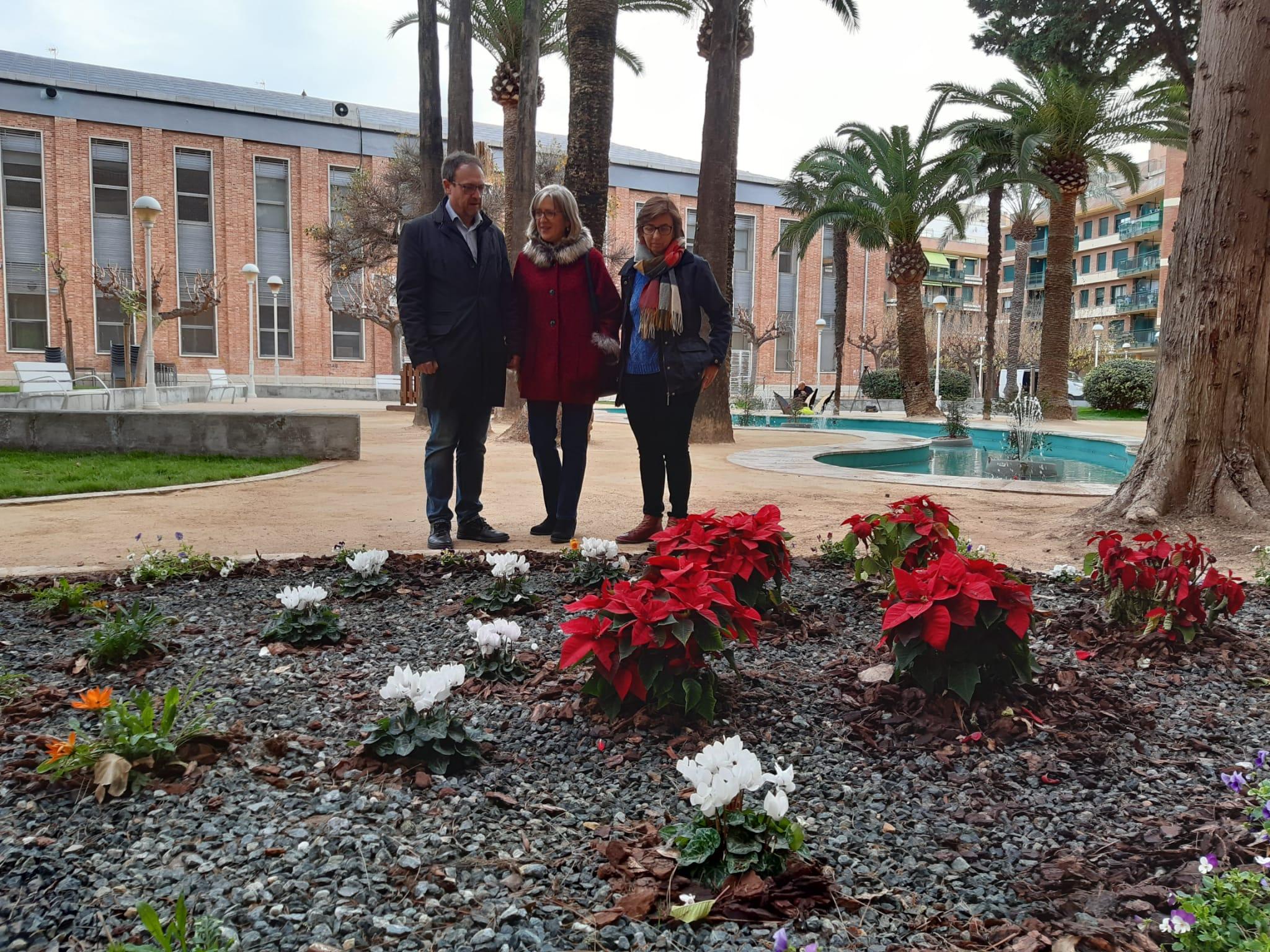 Finalitzen els treballs de regeneració del jardí de l'Auditori Pedro Mercader