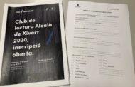Oberta la inscripció al Club de Lectura d'Alcalà de Xivert